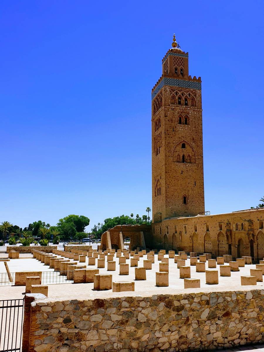 Koutubia mosque, Marrakesh, Morocco